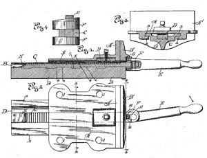 Us Patent 656 793 Woodworker S Vise