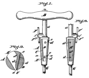 Us Patent 266091 Bung Hole Reamer